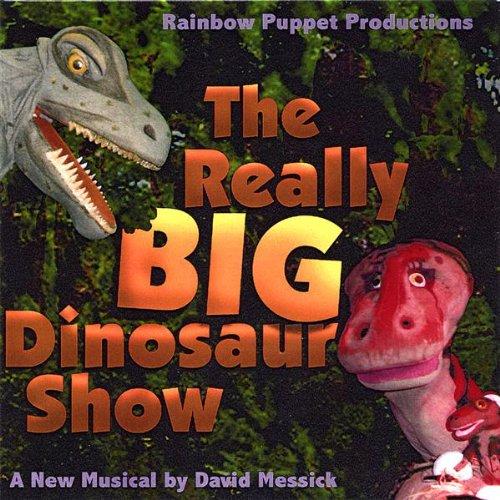 Really Big Dinosaur Show - Rainbow Puppet Productions - Musik - Rainbow Puppet Productions - 0752359575929 - July 2, 2002