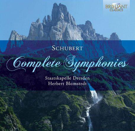 Complete Symphonies Brilliant - Staatskapelle Dresden / Blomstedt, Herbert - Musik - DAN - 5028421946931 - August 1, 2013