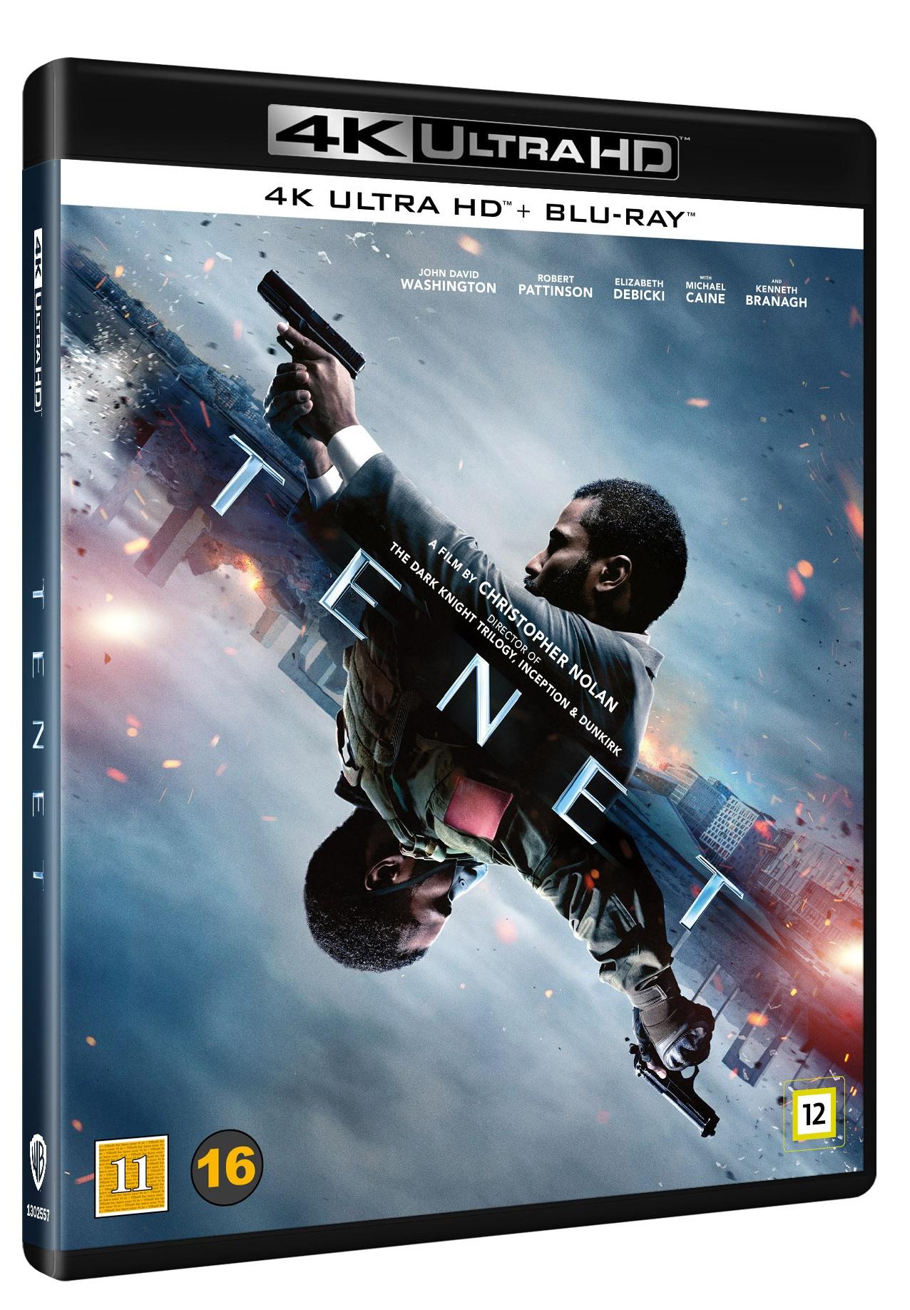 Tenet - Christopher Nolan - Film -  - 7333018017931 - 14. december 2020