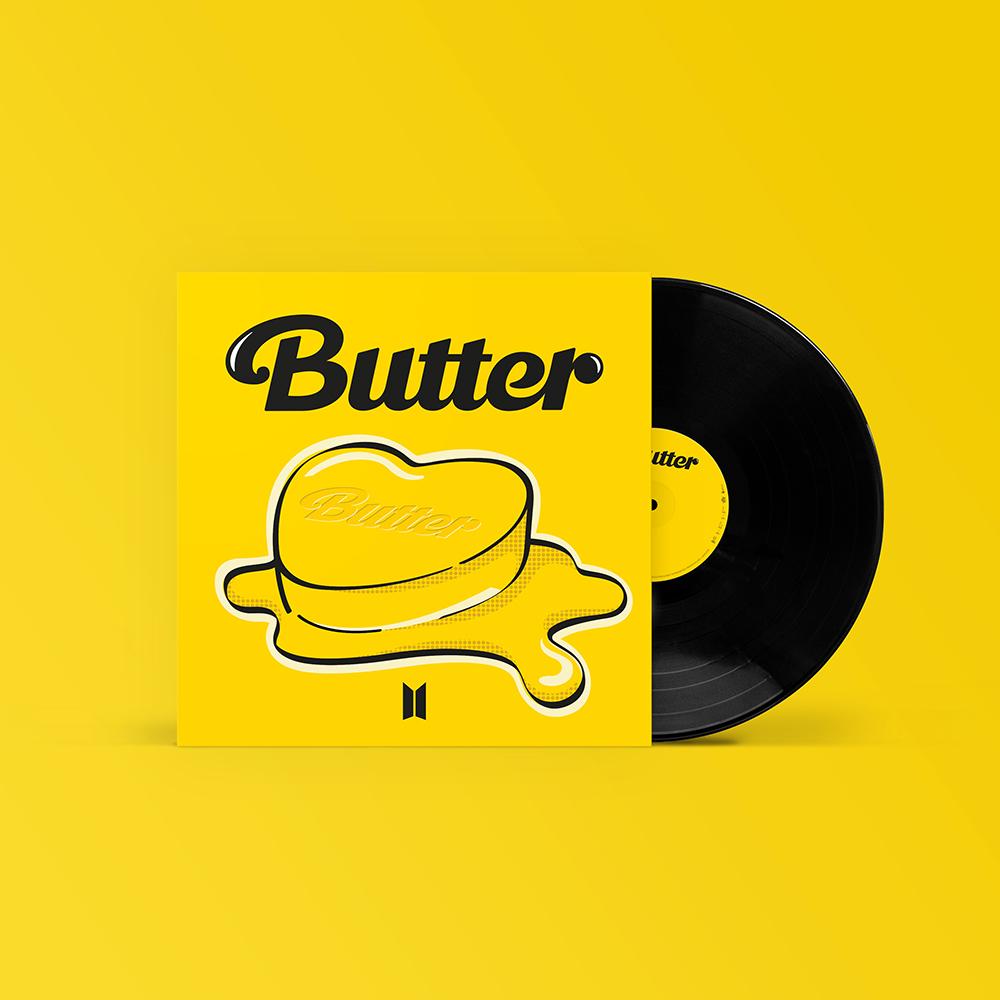"""BUTTER (7"""" VINYL) - BTS - Musik -  - 9957226836931 - October 29, 2021"""