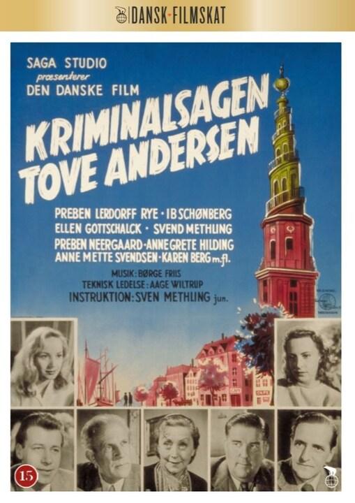 Kriminalsagen Tove Andersen -  - Film -  - 5708758688932 - 20/4-2020