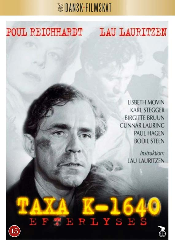 Taxa K 1640 Efterlyses -  - Film - Nordisk Film - 5708758703932 - 6/8-2020