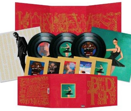 My Beautiful Dark Twisted Fantasy - Kanye West - Musik - DEF JAM - 0602527594934 - 28/12-2010