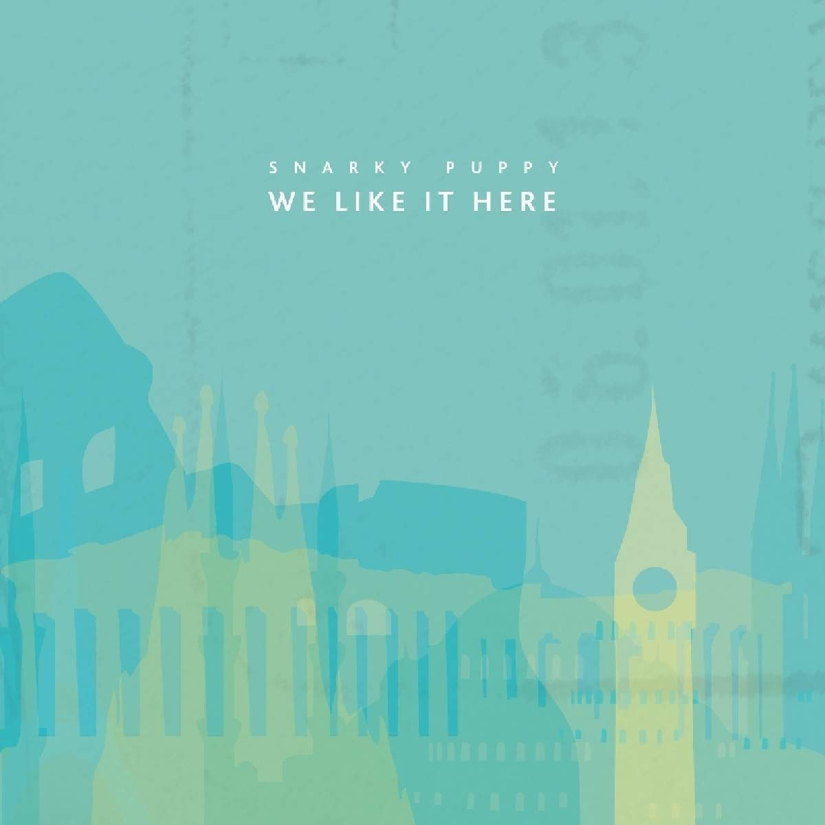 We Like It Here - Snarky Puppy - Musik - Ground Up - 0194491131937 - 19/6-2020