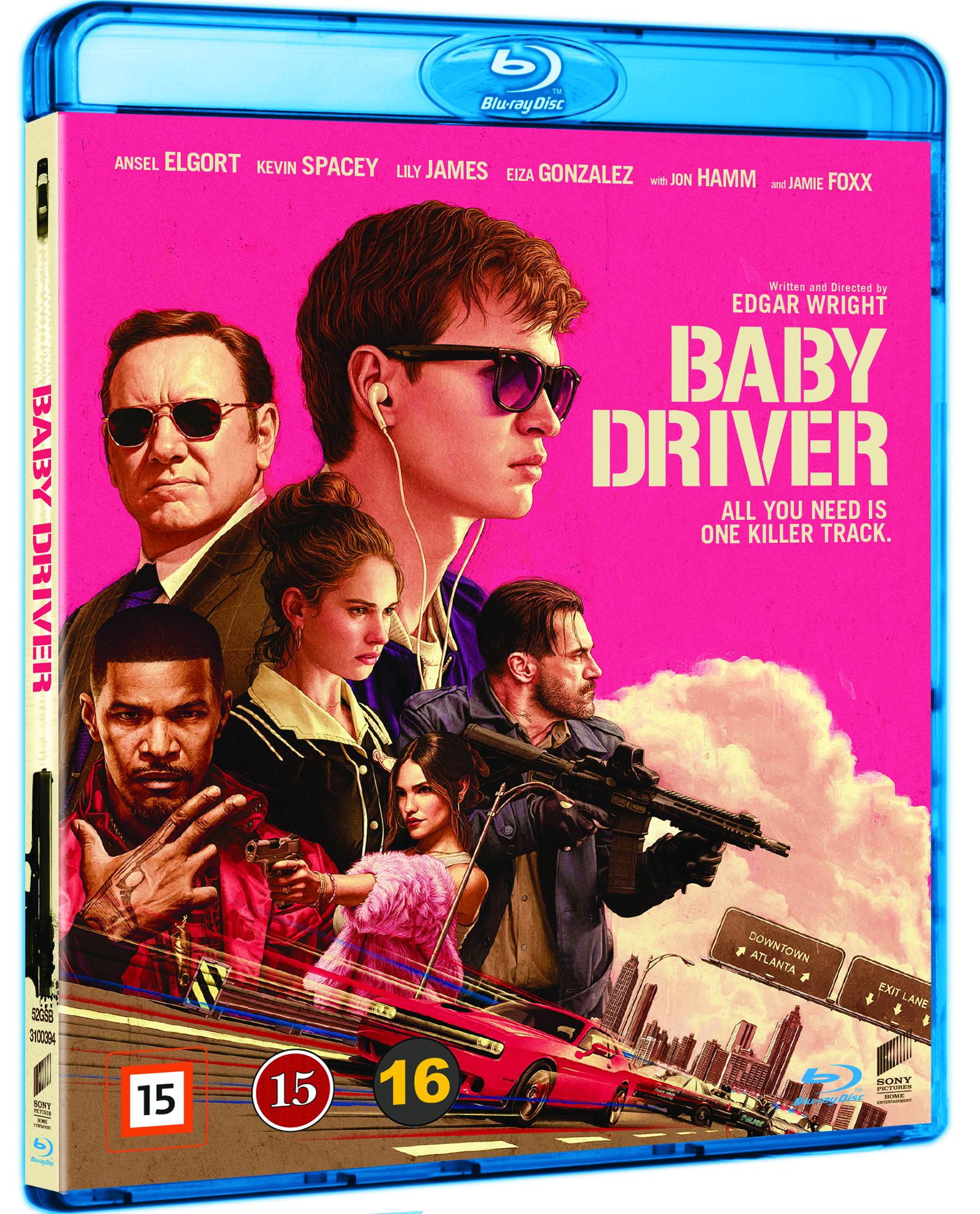 Baby Driver -  - Film - JV-SPHE - 7330031003941 - December 14, 2017