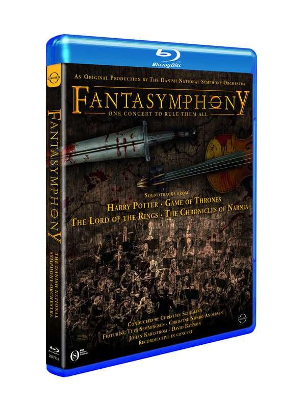 Fantasymphony - The Danish National Symphony O - Film - EuroArts - 0880242651945 - May 22, 2020