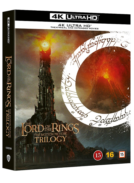 Lord of the Rings Trilogy (4K UHD Box Set) - Ringenes Herre - Film -  - 7333018017948 - 2021