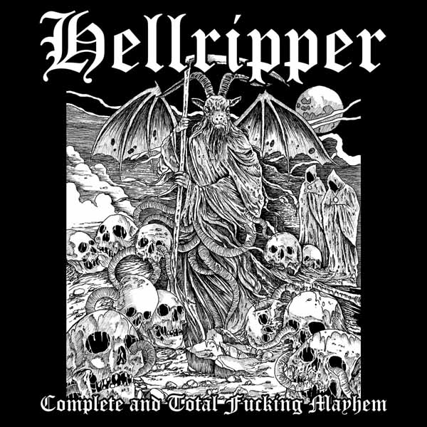Complete and Total Fucking Mayhem - Hellripper - Musik - REAPER METAL PRODUCTIONS - 0752785897954 - February 19, 2021