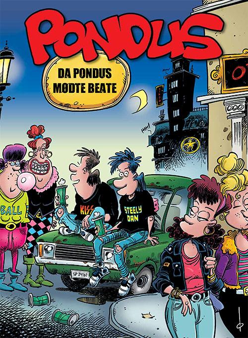 Pondus: Pondus: Da Pondus mødte Beate - Frode Øverli - Bøger - Forlaget Zoom - 9788770211956 - May 7, 2021