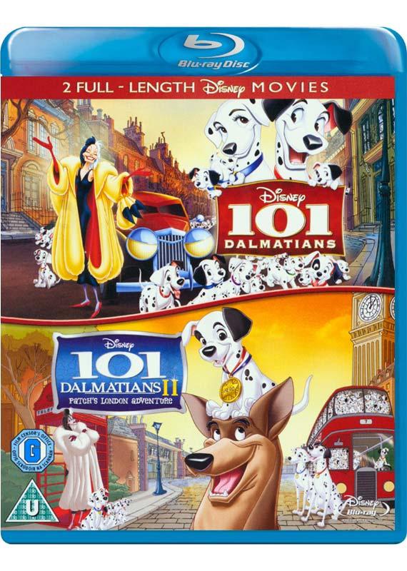 101 Dalmatians 1  2 Duopack - (UK-Version evtl. keine dt. Sprache) - Film - WALT DISNEY - 8717418367961 - 3. september 2012