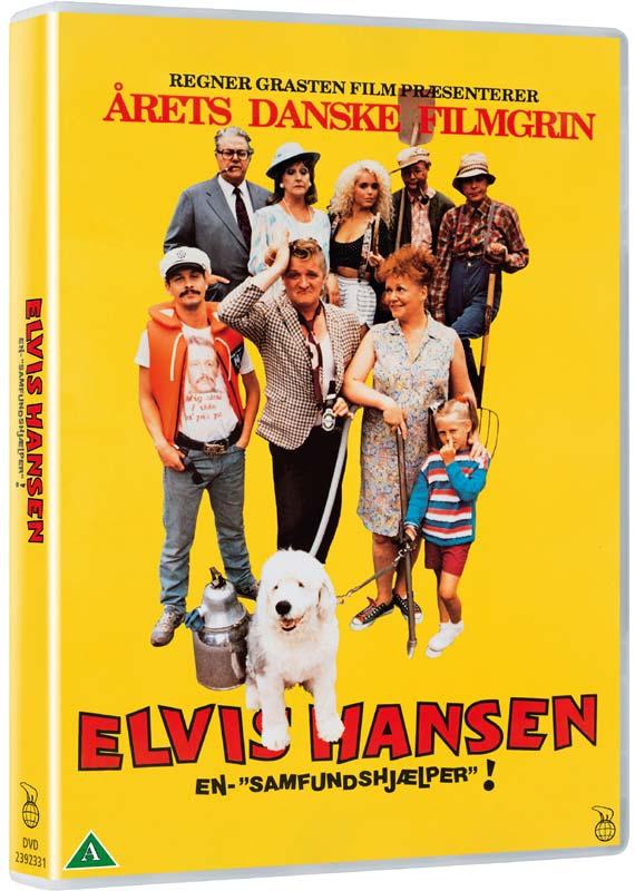 Elvis Hansen - En Samfundshjælper - Elvis Hansen - en Samfundshjælper - Film - Nordisk Film - 5708758724968 - September 12, 2019