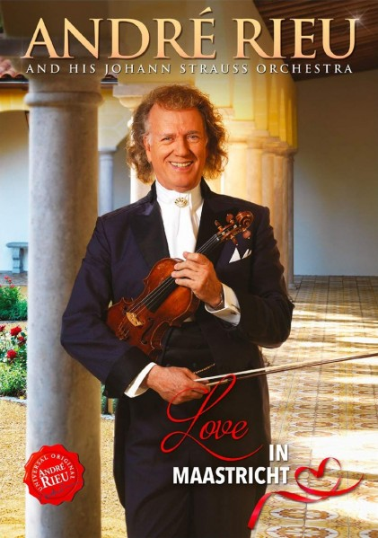 Love in Maastricht - Andre Rieu - Film - UNIVERSAL - 8719326407968 - March 22, 2019