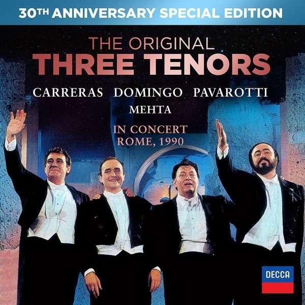 Three Tenors 30th Anniversary - Pavarotti / Domingo / Carreras - Film - DECCA - 0044007439975 - 24/7-2020