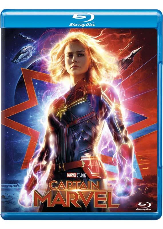 Captain Marvel -  - Film -  - 8717418543976 - 18. juli 2019