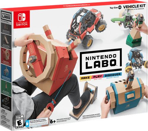 Nintendo Labo - Toy-Con 03.2522266 - Nintendo - Bøger -  - 0045496421977 - 12/2-2019