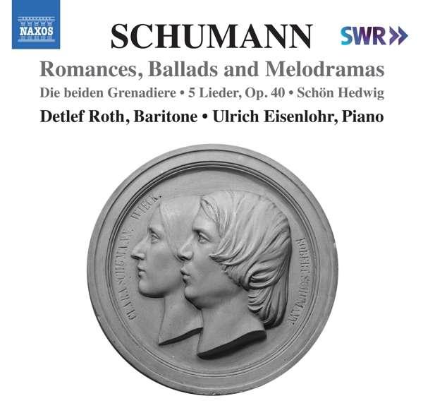 Lieder Edition Vol.9: Romances, Ballads and Melodramas - R. Schumann - Musik - NAXOS - 0747313402977 - 4. september 2020