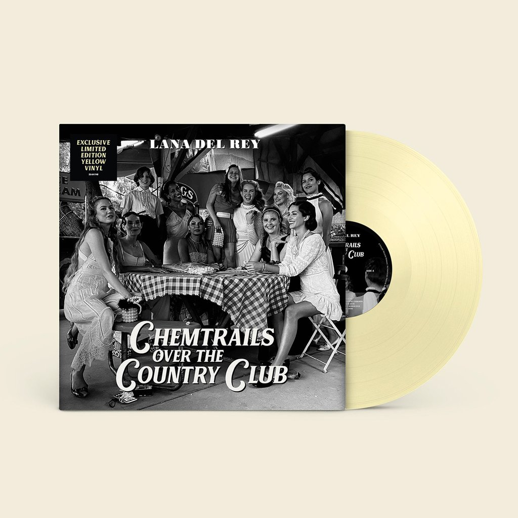 Chemtrails Over the Country Club (Limited Yellow Vinyl) - Lana Del Rey - Musik - Polydor - 0602435497983 - 19/3-2021