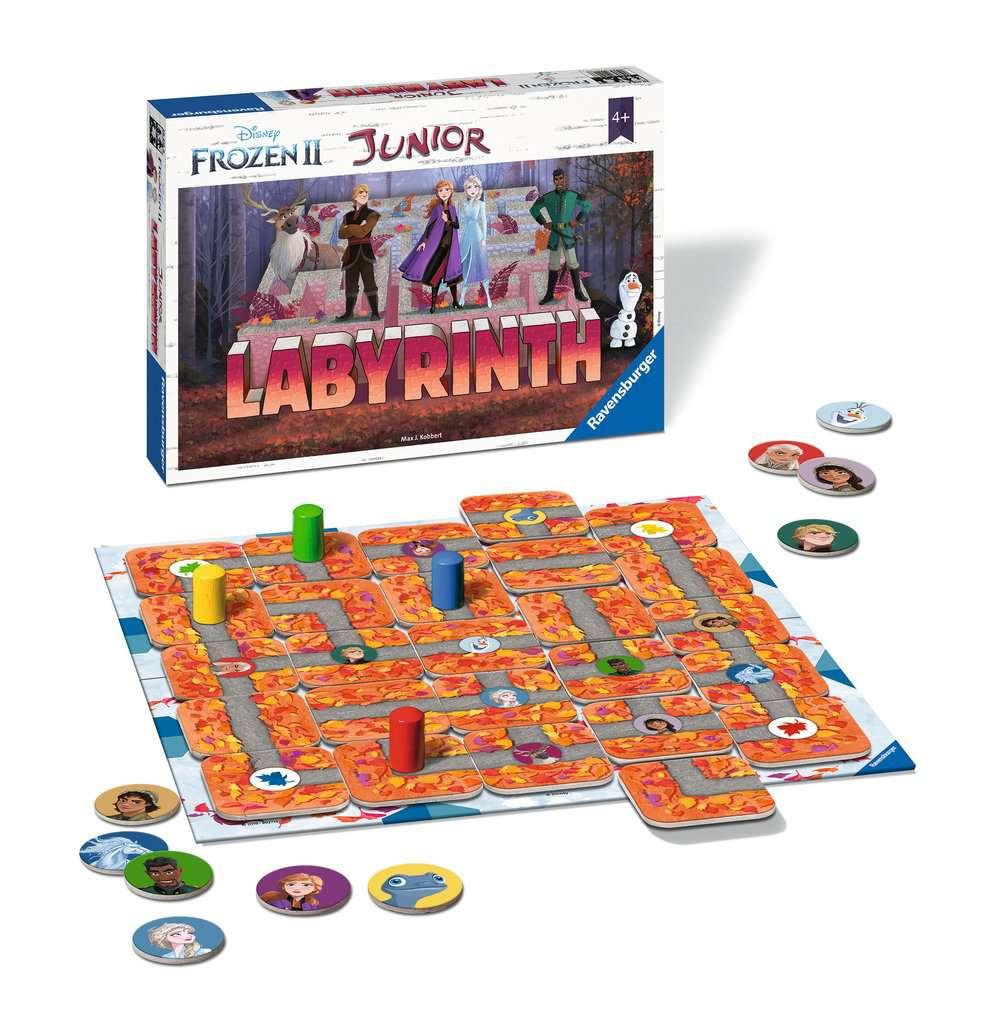 Frozen 2 - Junior Labyrinth -  - Brætspil -  - 4005556204984 -