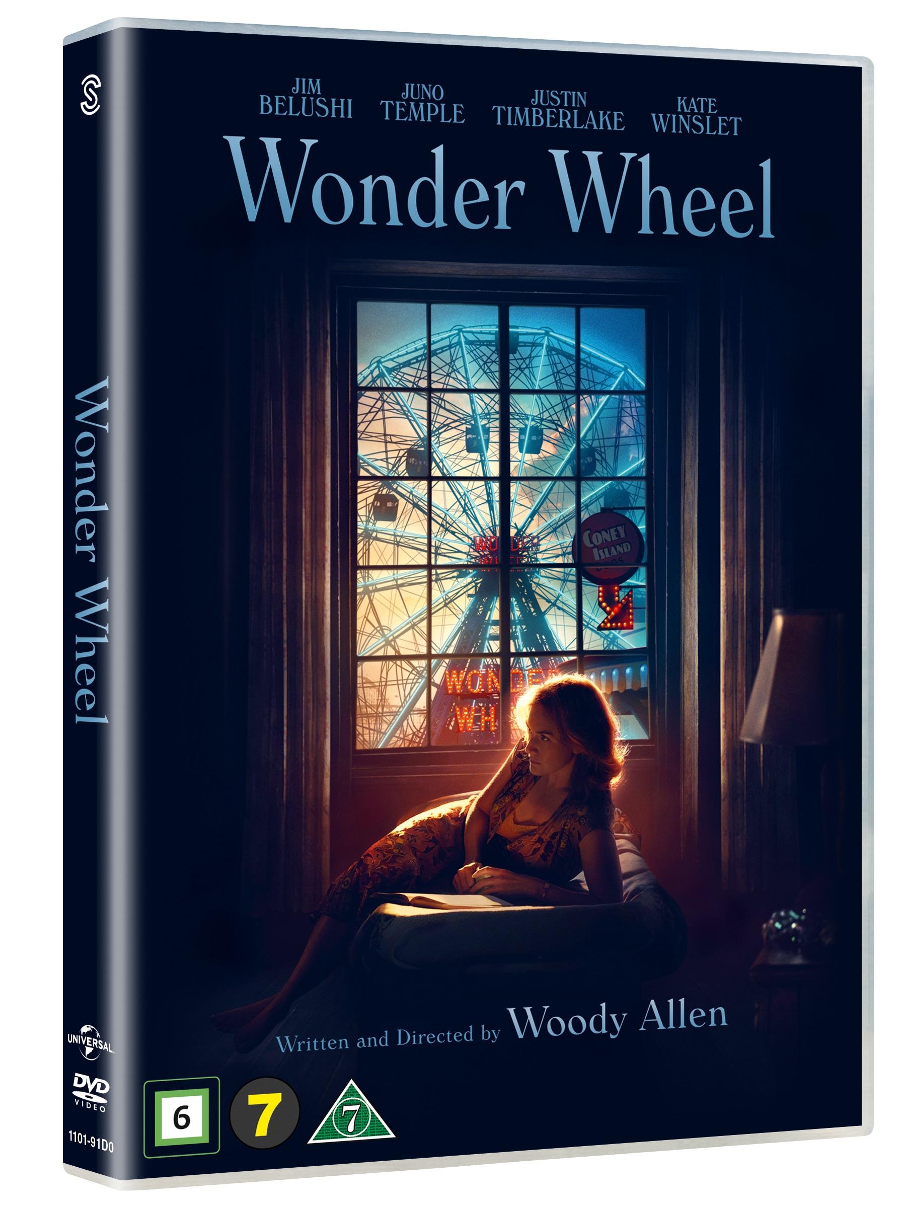Wonder Wheel - Kate Winslet / Jim Belushi / Justin Timberlake / Juno Temple - Film - JV-UPN - 5706169000985 - May 17, 2018