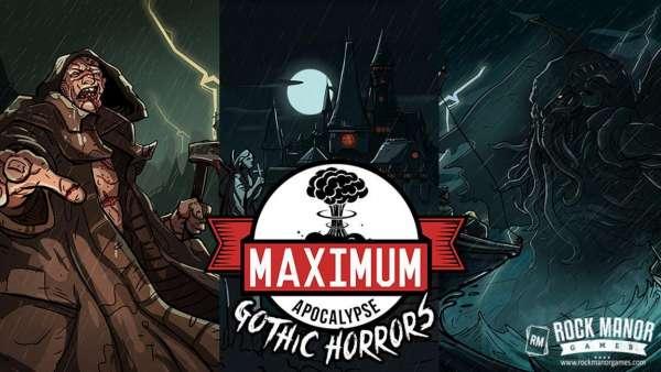 Maximum Apocalypse Gothic Horrors Exp. -  - Brætspil -  - 0752830841987 - August 7, 2019