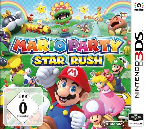 Mario Party,Star Rush,N3DS.2235140 -  - Bøger -  - 0045496473990 - 7/10-2016