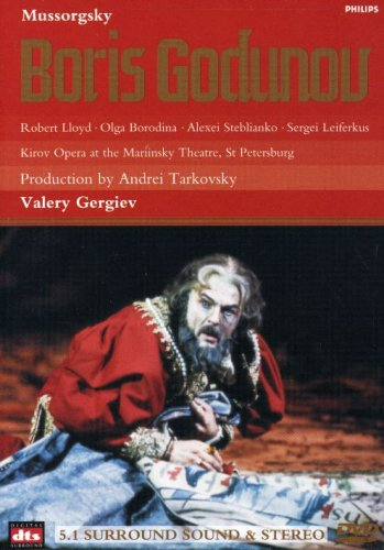 Boris Godunov (1869 Version) - M. Mussorgsky - Film - PHILIPS CLASSICS - 0044007508992 - 30/10-2002