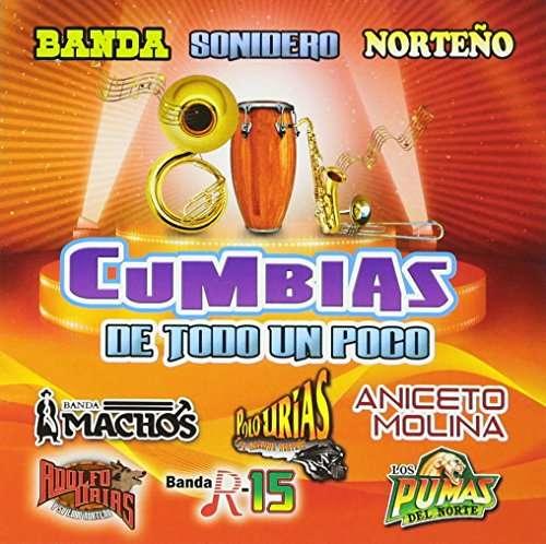 Cumbias De Todo - Banda Machos - Musik - PLATINO - 0753182064994 - June 30, 2017