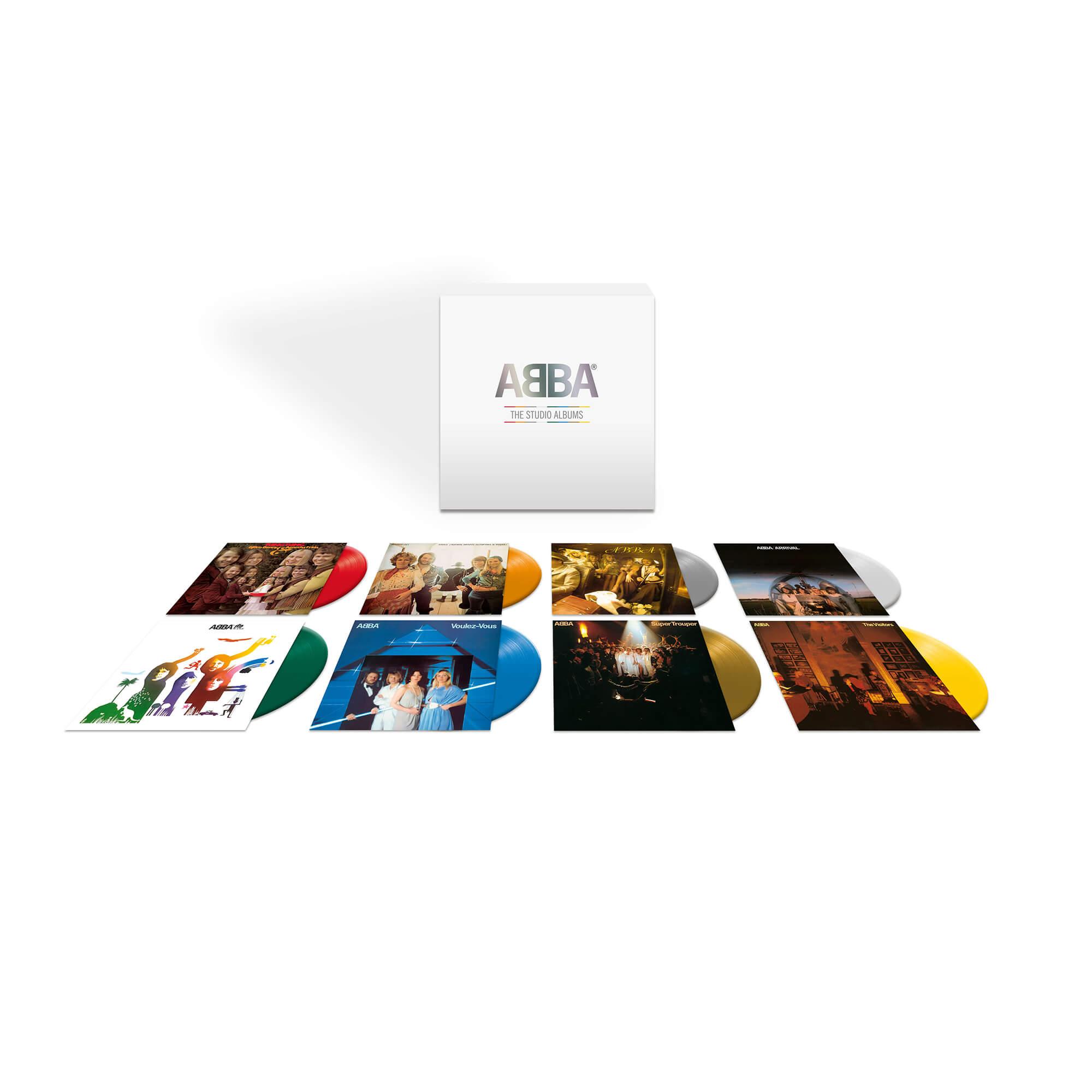 ABBA - The Studio Albums - ABBA - Musik - UNIVERSAL - 0602508378997 - 24/7-2020