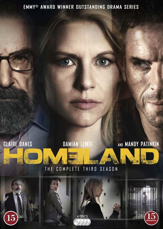 Homeland - Season 3 - DVD /tv Series /complete Edition / Season 3/dvd - Homeland - Film - FOX - 7340112713997 - December 13, 1901