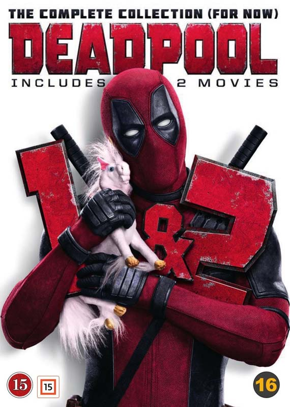Deadpool 1+2 - The Complete Collection (For Now) -  - Film -  - 7340112745998 - 1/10-2018