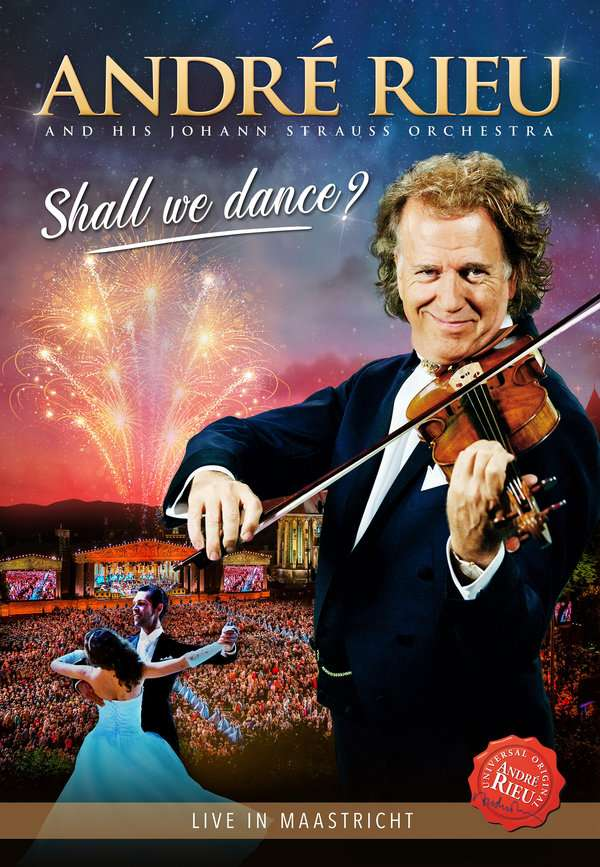 Shall We Dance - Andre Rieu - Film - UNIVERSAL - 8719326407999 - 13/3-2020